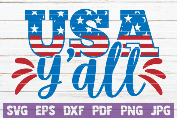 Usa Y All Graphic By Mintymarshmallows Creative Fabrica