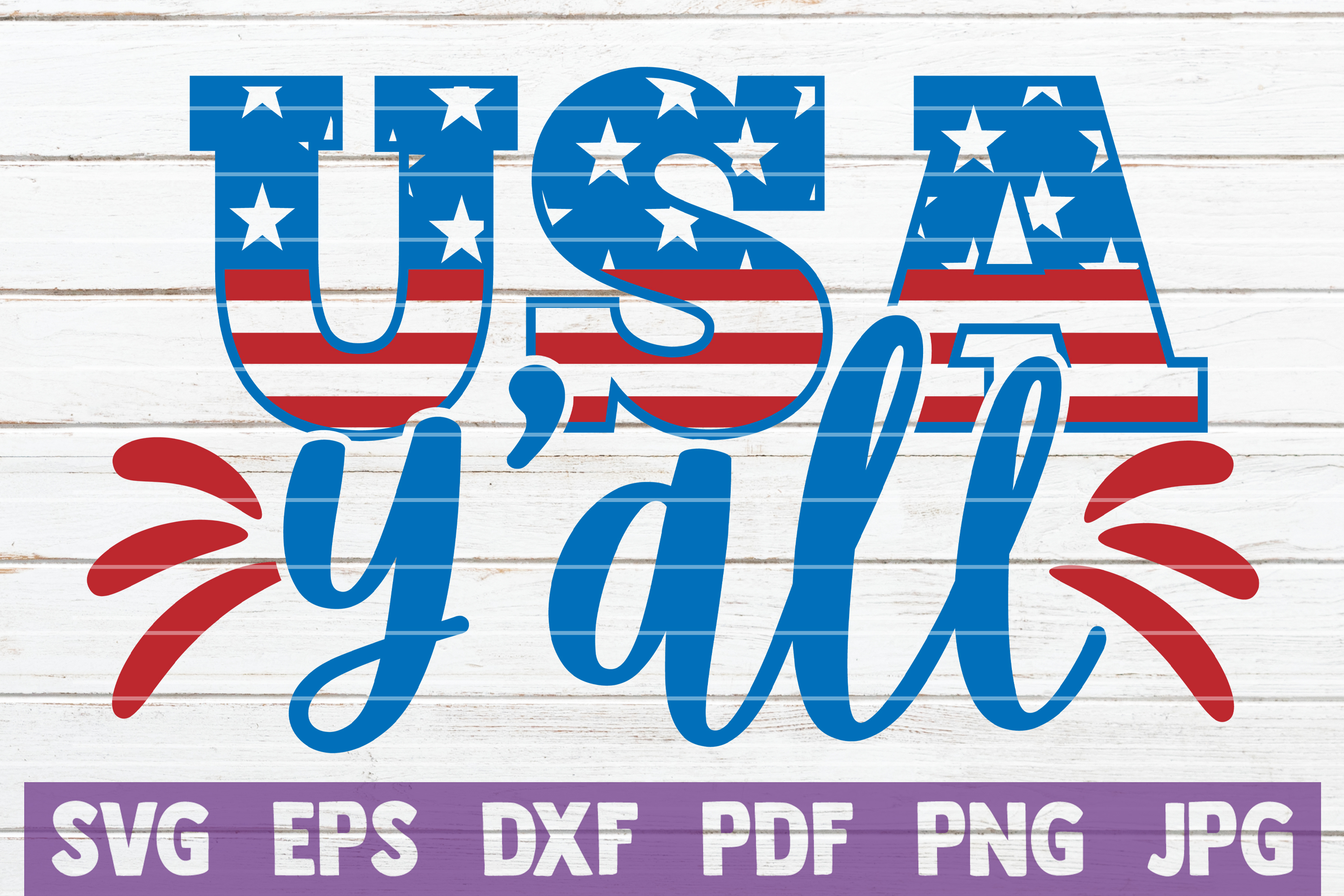 Download Free Usa Y All Graphic By Mintymarshmallows Creative Fabrica for Cricut Explore, Silhouette and other cutting machines.