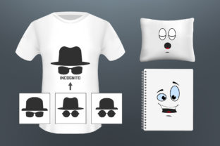 Сartoon Comic Faces. Mock Up Graphic Product Mockups By gee-00