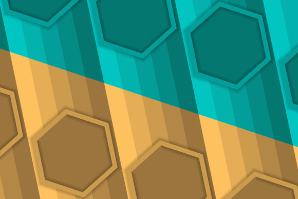 Download Free Background Hexagon Diagonal Brown Green Graphic By Noory Shopper SVG Cut Files