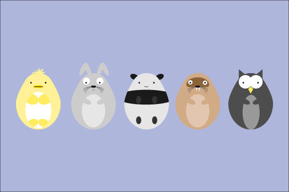 Download Free Animal Face Character Graphic By Curutdesign Creative Fabrica for Cricut Explore, Silhouette and other cutting machines.