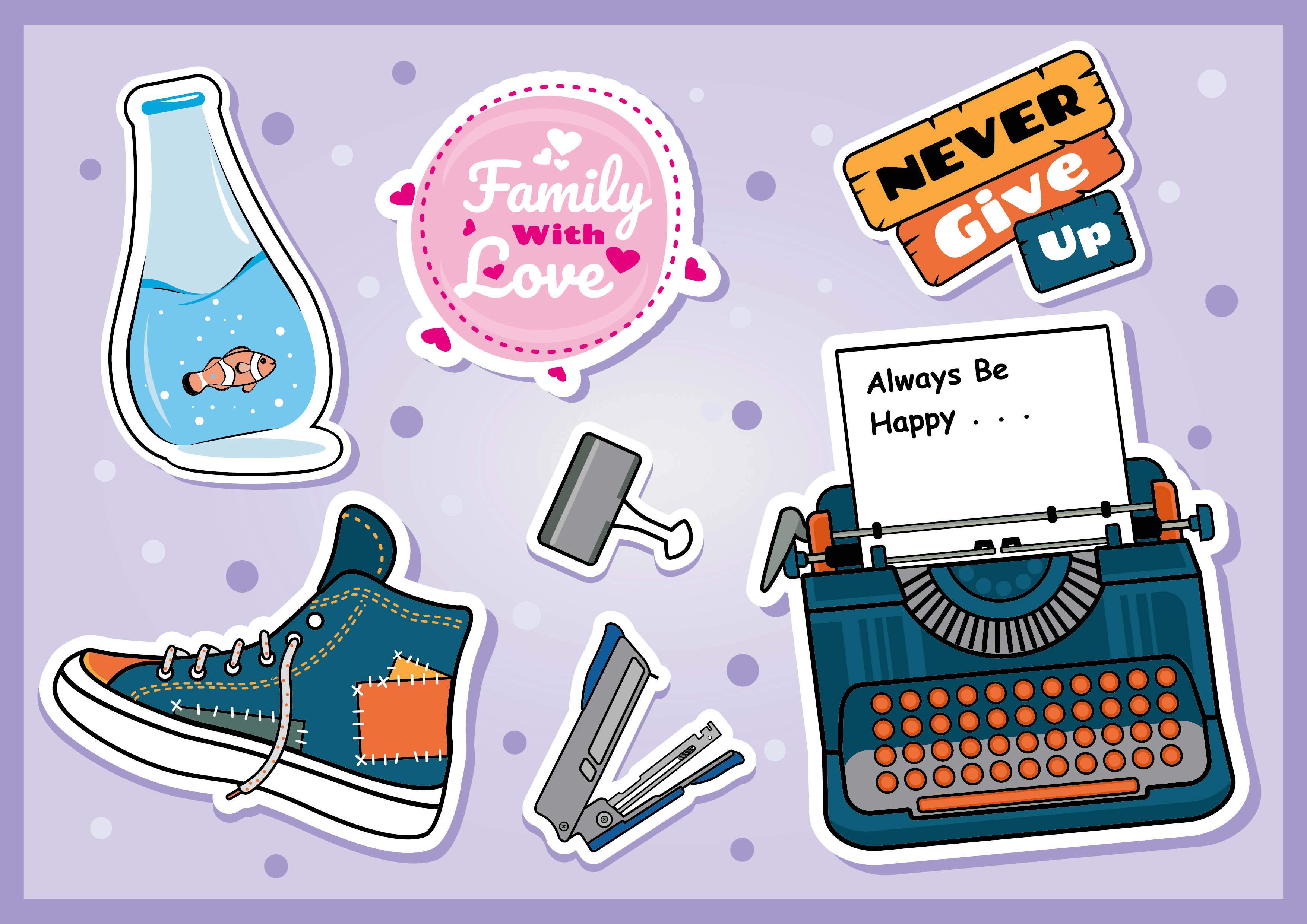 Download Free Doodle Icon Collection Vector Graphic By Abs Creative Fabrica for Cricut Explore, Silhouette and other cutting machines.
