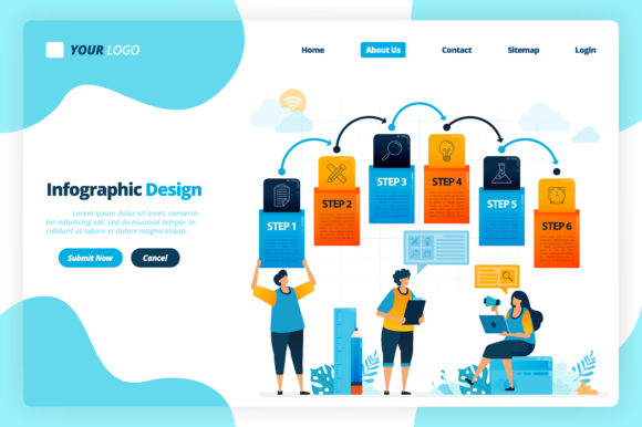 Infographic Design For Business Options Graphic By Setiawanarief111 Creative Fabrica