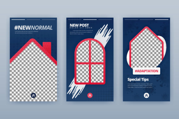 New Normal for Stories Media Packages Graphic Graphic Templates By setiawanarief111