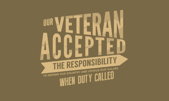 Download Free Our Veteran Accepted The Responsibility Graphic By Baraeiji for Cricut Explore, Silhouette and other cutting machines.