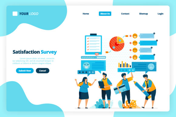 Download Free Web Of Emoticon Satisfaction Surveys Graphic By Setiawanarief111 for Cricut Explore, Silhouette and other cutting machines.