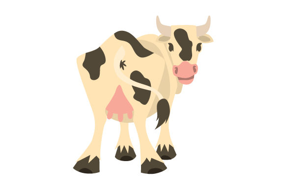 Download Free Cow Butt Svg Cut File By Creative Fabrica Crafts Creative Fabrica for Cricut Explore, Silhouette and other cutting machines.