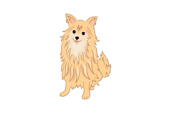 Download Free Pom Chi Dog Svg Cut File By Creative Fabrica Crafts Creative for Cricut Explore, Silhouette and other cutting machines.