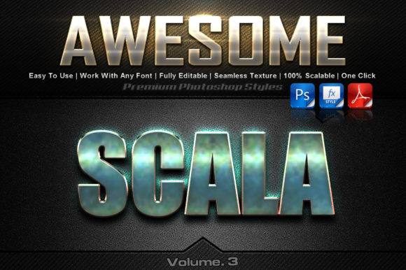 Download Free Awesome Photoshop Text Effects Graphic By Mualanadesign for Cricut Explore, Silhouette and other cutting machines.