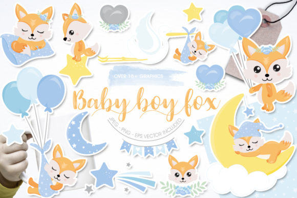 Download Free Baby Sharks Graphic By Prettygrafik Creative Fabrica for Cricut Explore, Silhouette and other cutting machines.