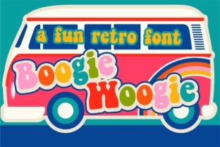 Print on Demand: PN Boogie Woogie Display Font By Illustration Ink