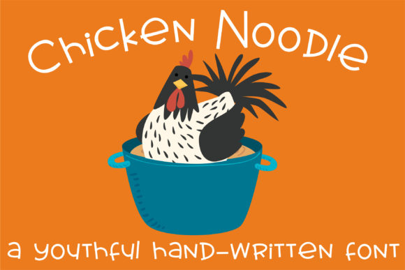 Print on Demand: Chicken Noodle Script & Handwritten Font By Illustration Ink