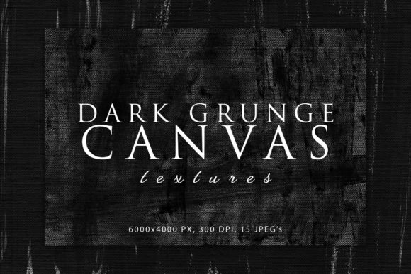 Download Free Dark Grunge Canvas Textures Graphic By Artistmef Creative Fabrica for Cricut Explore, Silhouette and other cutting machines.