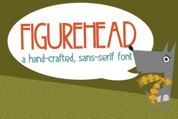 Print on Demand: FIgurehead Sans Serif Font By Illustration Ink