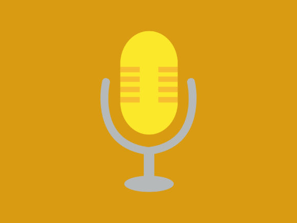 Download Free Gold Mic Icon Full Color Graphic By Meandmydate Creative Fabrica for Cricut Explore, Silhouette and other cutting machines.