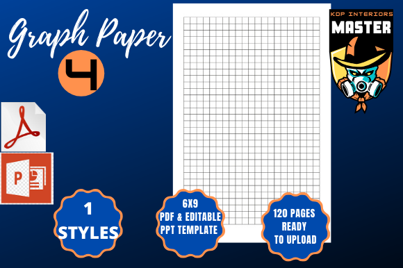 Download Free Graph Paper 4 Graphic By Kdp Interiors Master Creative Fabrica for Cricut Explore, Silhouette and other cutting machines.