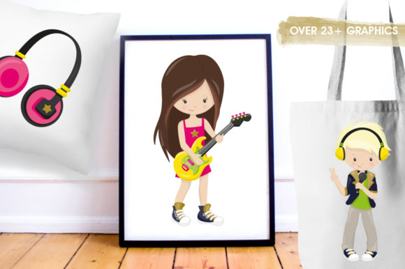 Download Free Kids Karaoke Graphic By Prettygrafik Creative Fabrica for Cricut Explore, Silhouette and other cutting machines.
