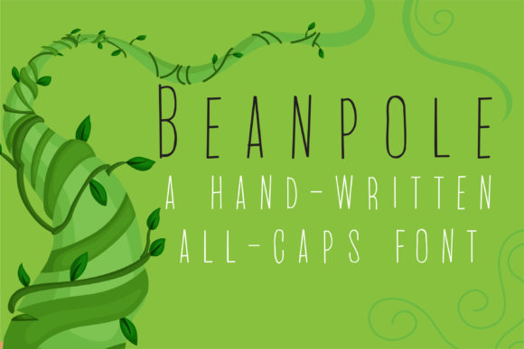Print on Demand: PN Beanpole Script & Handwritten Font By Illustration Ink