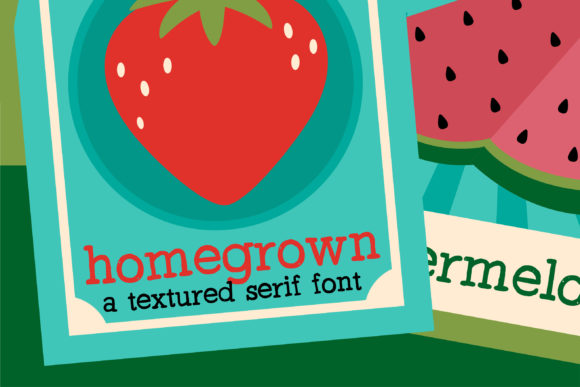 Print on Demand: PN Homegrown Serif Font By Illustration Ink