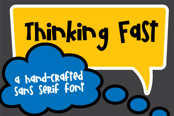 Download Free Pn Thinking Fast Font By Illustration Ink Creative Fabrica for Cricut Explore, Silhouette and other cutting machines.