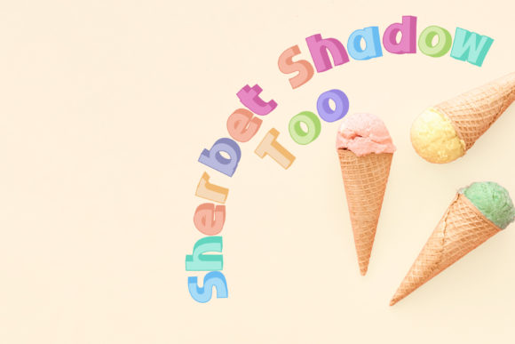 Download Free Sherbet Shadow Duo Font By Illustration Ink Creative Fabrica for Cricut Explore, Silhouette and other cutting machines.