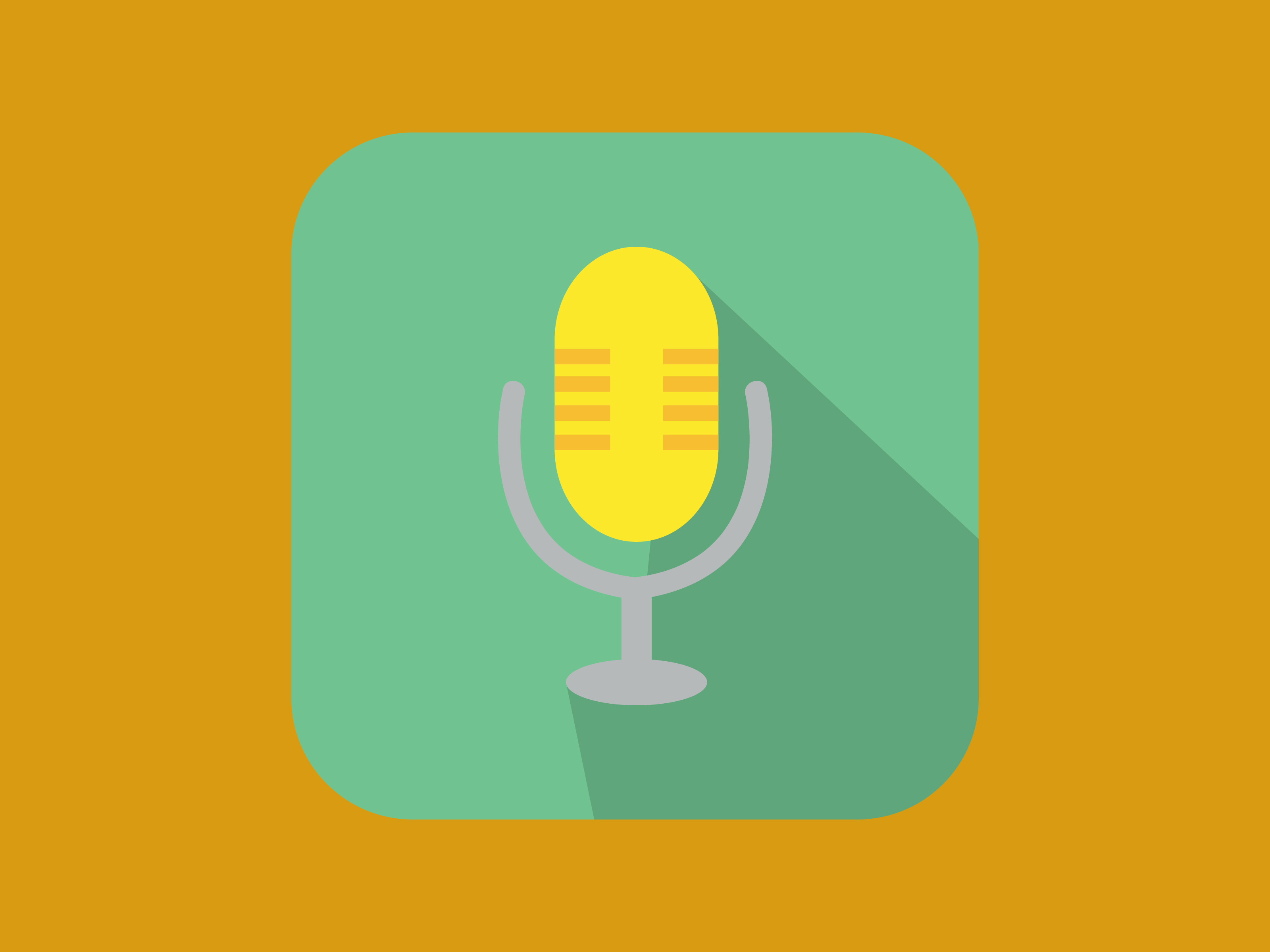 Download Free Sing Mic Icon Modern Color Graphic By Meandmydate Creative Fabrica for Cricut Explore, Silhouette and other cutting machines.