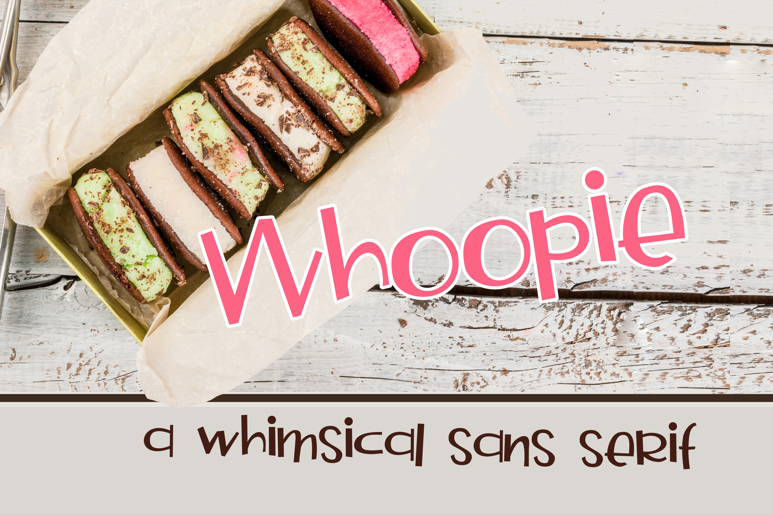 Download Free Whoopie Font By Illustration Ink Creative Fabrica for Cricut Explore, Silhouette and other cutting machines.