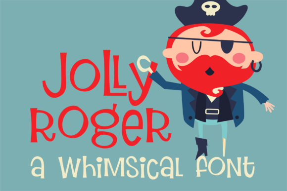 Print on Demand: ZP Jolly Roger Display Font By Illustration Ink