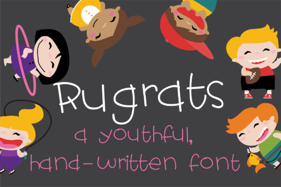 Print on Demand: ZP Rugrats Script & Handwritten Font By Illustration Ink