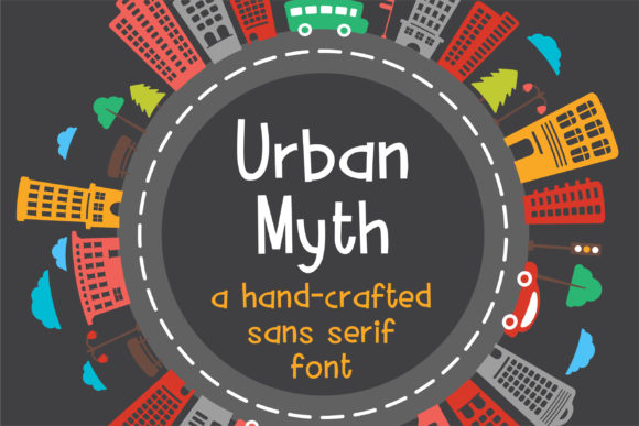 Print on Demand: ZP Urban Myth Script & Handwritten Font By Illustration Ink