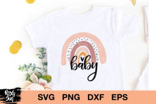 Download Free Baby Rainbow Graphic By Roxysvg26 Creative Fabrica for Cricut Explore, Silhouette and other cutting machines.