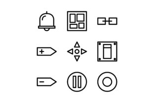 Interface Black and White Line Icon Graphic Icons By glyph.faisalovers