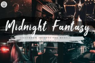Print on Demand: 7 Midnight Fantasy Mobile Lightroom Graphic Actions & Presets By 3Motional