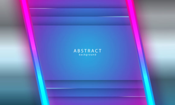 Download Free Abstract Background With Neon Light Graphic By Be Young for Cricut Explore, Silhouette and other cutting machines.