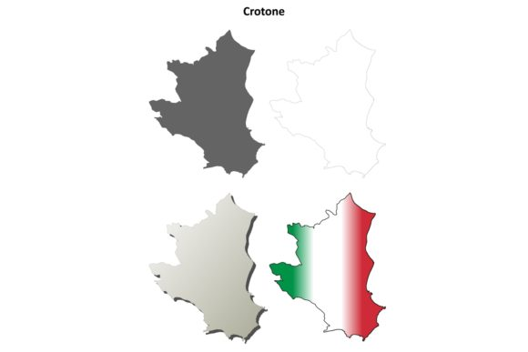 Download Free 1 Crotone Boundary Designs Graphics for Cricut Explore, Silhouette and other cutting machines.