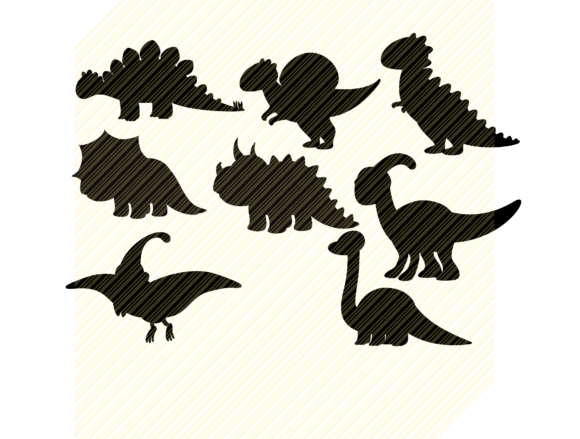 Dinosaur Silhouette Baby Graphic Graphic Crafts By SVGPlaceDesign
