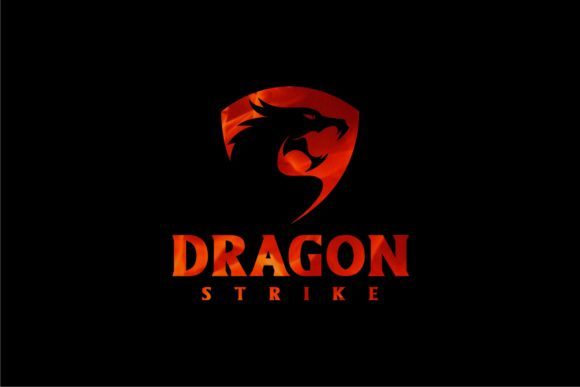 Download Free Dragon Strike Graphic By Herulogo Creative Fabrica for Cricut Explore, Silhouette and other cutting machines.