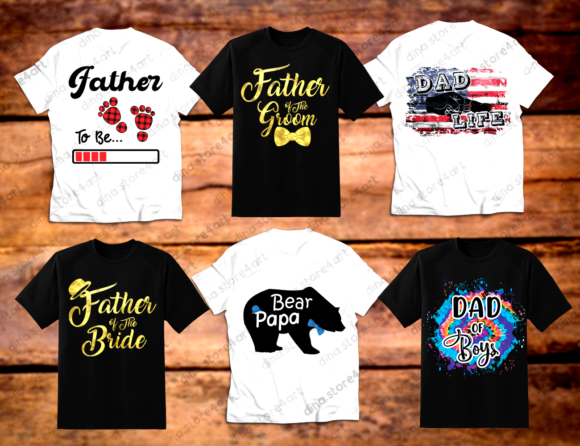 Download Free Father S Day Sublimation Bundle Graphic By Dina Store4art SVG Cut Files