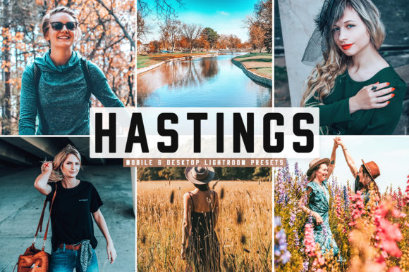 Print on Demand: Hastings Lightroom Presets Pack Graphic Actions & Presets By Creative Tacos