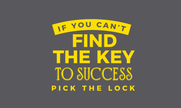 Download Free If You Can T Find The Key To Success Graphic By Baraeiji for Cricut Explore, Silhouette and other cutting machines.