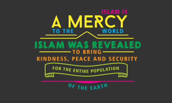 Print on Demand: Islam is a Mercy to the World Islam Graphic Illustrations By baraeiji