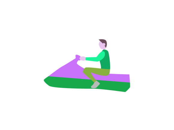 Download Free Jetski Extreme Sport Icon Graphic By 1riaspengantin Creative for Cricut Explore, Silhouette and other cutting machines.