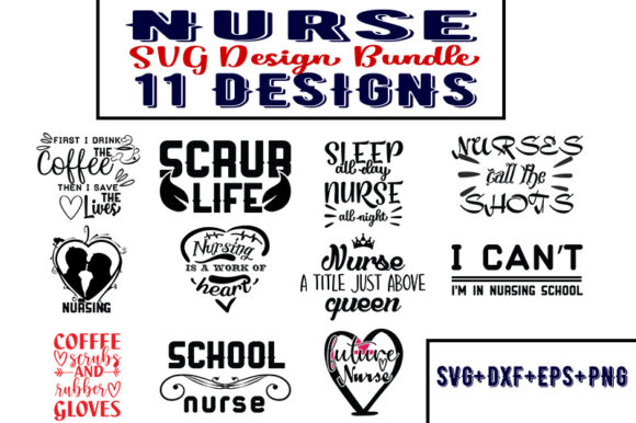 Download Free Nurse Bundle Graphic By Design Store Creative Fabrica for Cricut Explore, Silhouette and other cutting machines.