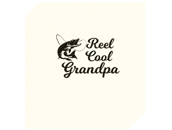 Download Free Reel Cool Grandpa Fishing Graphic Graphic By Svgplacedesign Creative Fabrica for Cricut Explore, Silhouette and other cutting machines.