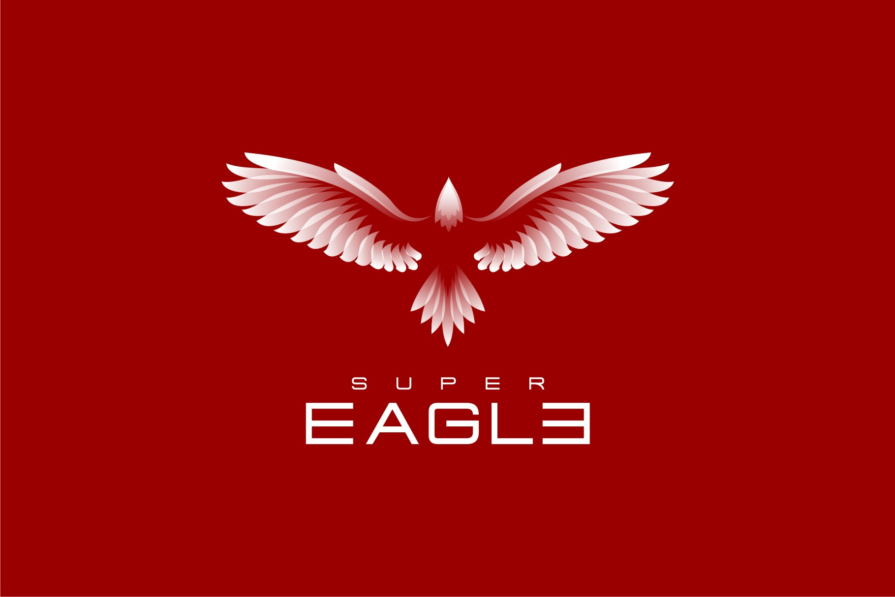 Download Free Super Eagle V 2 Graphic By Herulogo Creative Fabrica for Cricut Explore, Silhouette and other cutting machines.