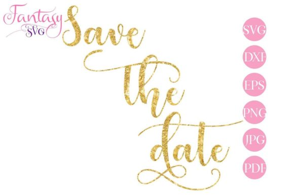Download Free Save The Date Svg Cut Files Graphic By Fantasy Svg Creative for Cricut Explore, Silhouette and other cutting machines.
