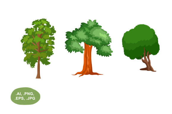 Download Free Tree Graphic By Salfiart Creative Fabrica SVG Cut Files