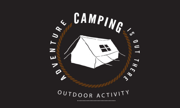 Download Free Adventure Camping Is Out There Graphic By Baraeiji Creative SVG Cut Files