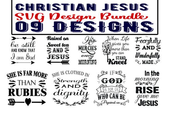 Download Free Christian Bundles Graphic By Design Store Creative Fabrica for Cricut Explore, Silhouette and other cutting machines.
