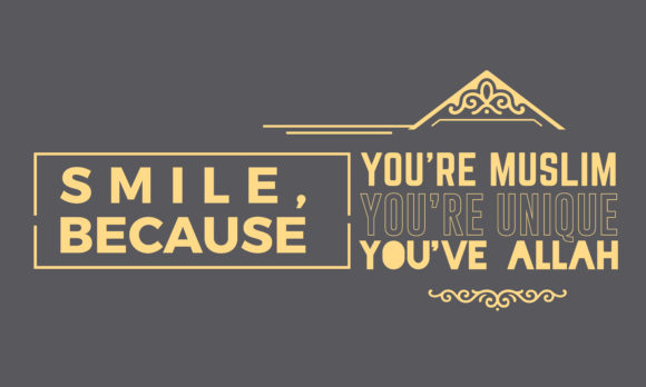 Print on Demand: Smile, Because You're Muslim, Graphic Illustrations By baraeiji